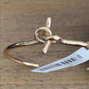 NWT Gold Knot Bracelet